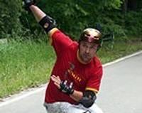 У лиепайского скейтбордиста бронза