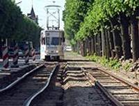 На ул.Ригас меняют трамвайные рельсы