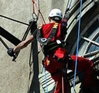 Альпинисты спасают башню