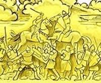 Началось строительство дорогой скульптуры Дурбской битвы