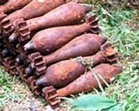 В Дунике нашли сотни снарядов