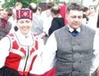 Курземчане демонстрировали умения в танцах