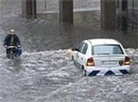 В субботу самые сильные дожди прошли в Курземе