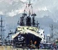 Советское время в картинах лиепайчан