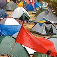 За палатку в неположенном месте – штраф