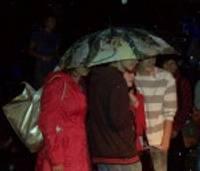 Ноты дождя на фестивале