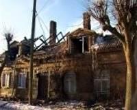 Перед Рождеством сгорел дом