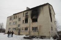 Семья пострадала при взрыве газа в Приекульской волости