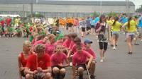 Репетиция X праздника песни и танцев среди школьников