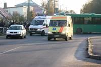 Авария на перекрестке улиц Зиемелю и Вентспилс