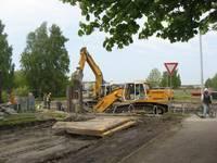 Zirņu ielas pārbūve. 3. — 4.nedēļa (30.05.-12.06.2011)