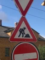 Pagaidu ceļa zīmes