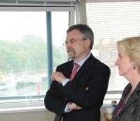 Посол США оказал честь Лиепае