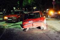 В ДТП столкнулись три машины