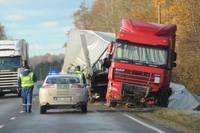 Авария на шоссе Рига-Лиепая