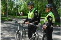 Работу возобновляют полицейские велопатрули