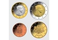 С 31 июля начнут чеканить монеты евро для Латвии