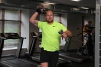 Серебряный олимпиец тренируется в Лиепае