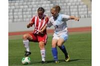 Шесть лиепайских футболисток в сборной Латвии