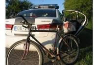 На краже велосипеда попалась молодая женщина