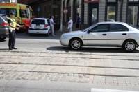 На пешеходном переходе пострадал человек