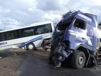 Дополнено (19:30) – Тяжелое ДТП на Лиепайском шоссе; в больнице 16 человек