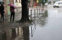 Сильный дождь промочил лиепайчан