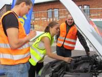 В тройку лучших молодых автоводителей вошла и девушка