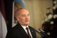 Президент Латвии отправится с визитами в Канаду и США