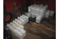 В гаражном кооперативе процветала алкогольная «точка»