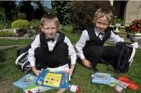 Даниэл и Кристер: «Мы с радостью идем в школу!»