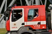 Выделены средства на строительство депо пожарным в Лиепае