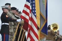 На памятном мероприятии подчеркивают поддержку Латвии