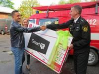 Спасатели получили подарок