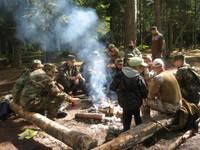 Яунсарги в лагере набираются сил и опыта