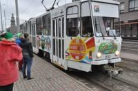Снова будет курсировать «Трамвай культуры»