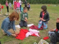 Социальная служба проводит детские летние лагеря