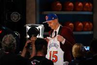 Дополнено – Порзиньгис выбран под номером 4 на драфте НБА