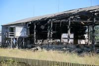 Огонь разрушил производство гранул