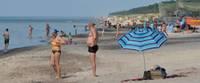 Пляж в Папе напоминает лиепайский