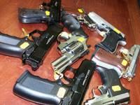 Полиция изъяла внушительные подпольные арсеналы