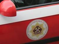 Пострадал пожарный
