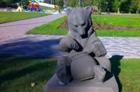 Медведь вернулся в парк