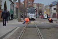 Завершают работы по реновации рельсовой линии