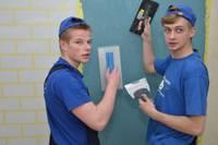 Будущие строители соревнуются в навыках