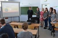 Студенты знакомятся с бизнес-средой