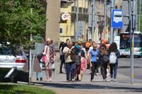 Численность населения Латвии в прошлом году продолжала сокращаться