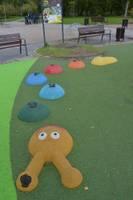 Детская площадка. Слезы из-за дождя