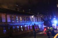 В пожаре на улице Терауда пострадали люди