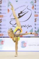 На чемпионате Европы заняла 11-ое место